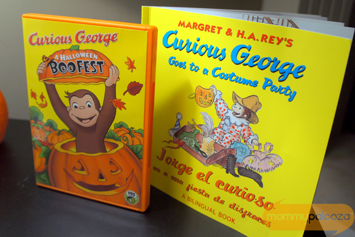 curious george halloween boofest airs october 28th on pbskids