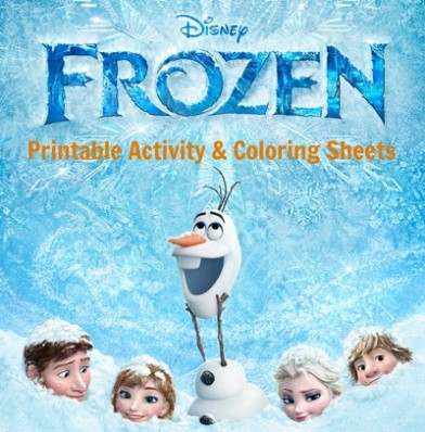 Disneys Frozen Free Printable Activity And Coloring Sheets For Kids
