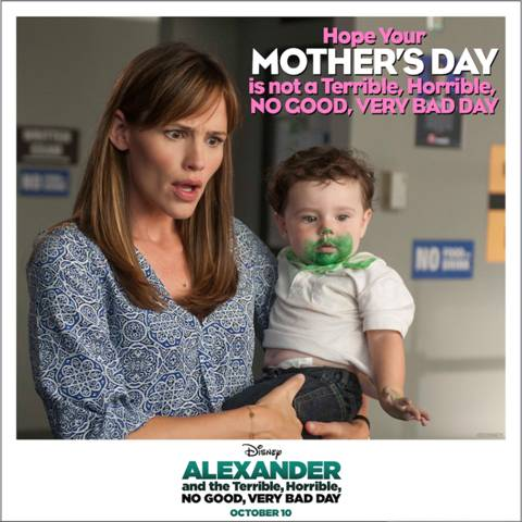 Disney's Alexander movie Mother's Day Card
