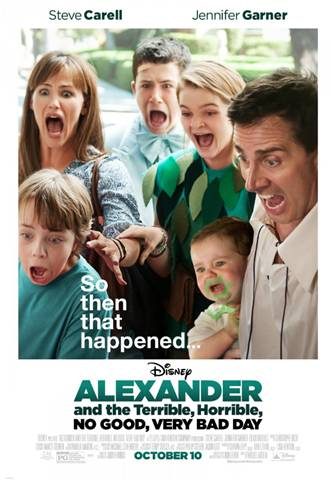 Movie Trailer | Disney's Alexander and the Terrible, Horrible, No Good, Very Bad Day