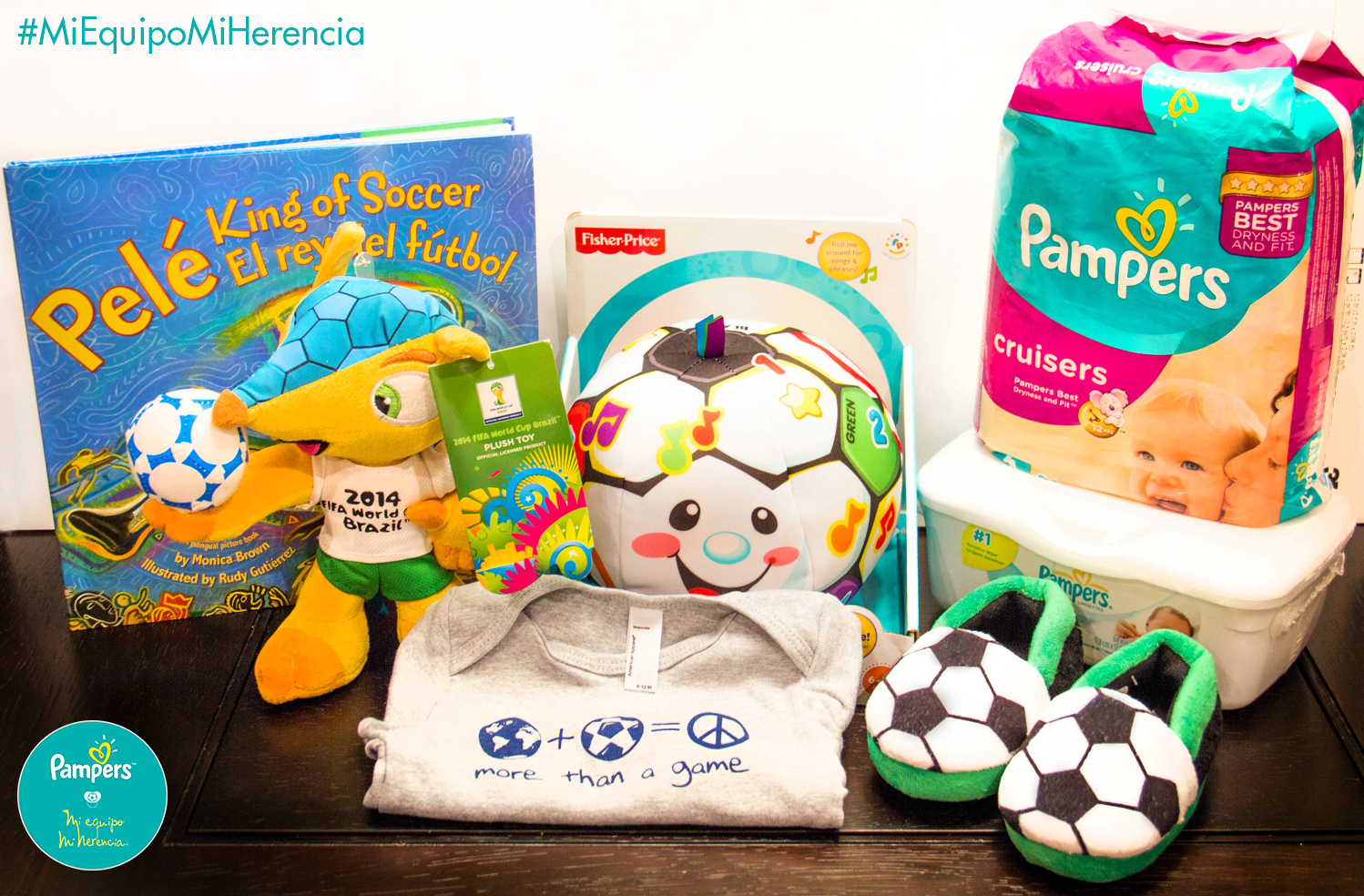 Pampers Mi Equipo, Mi Herencia Giveaway and Sweetpstakes