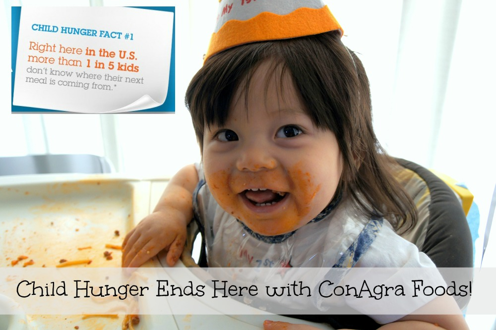 Help End Child Hunger with ConAgra