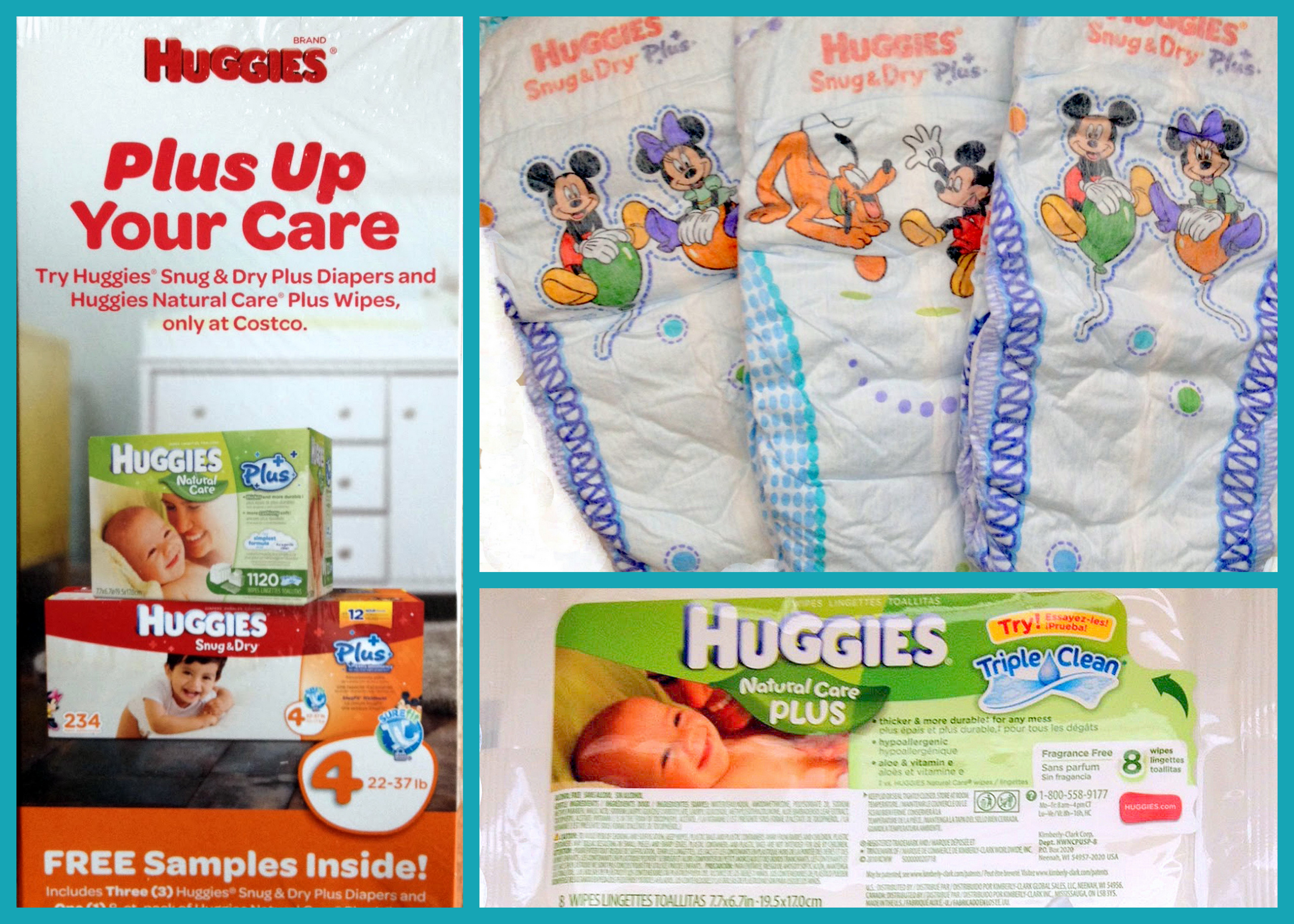 Request FREE Samples of Huggies Diapers and Wipes from Costco ...