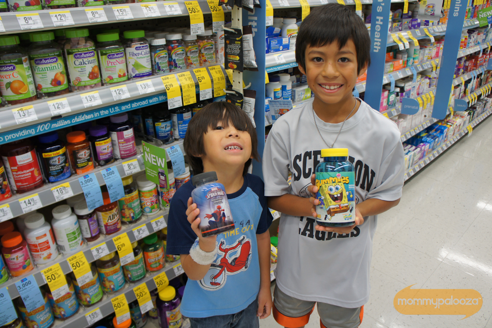 Get children's multivitamins for kids at Walgreens for back to school season