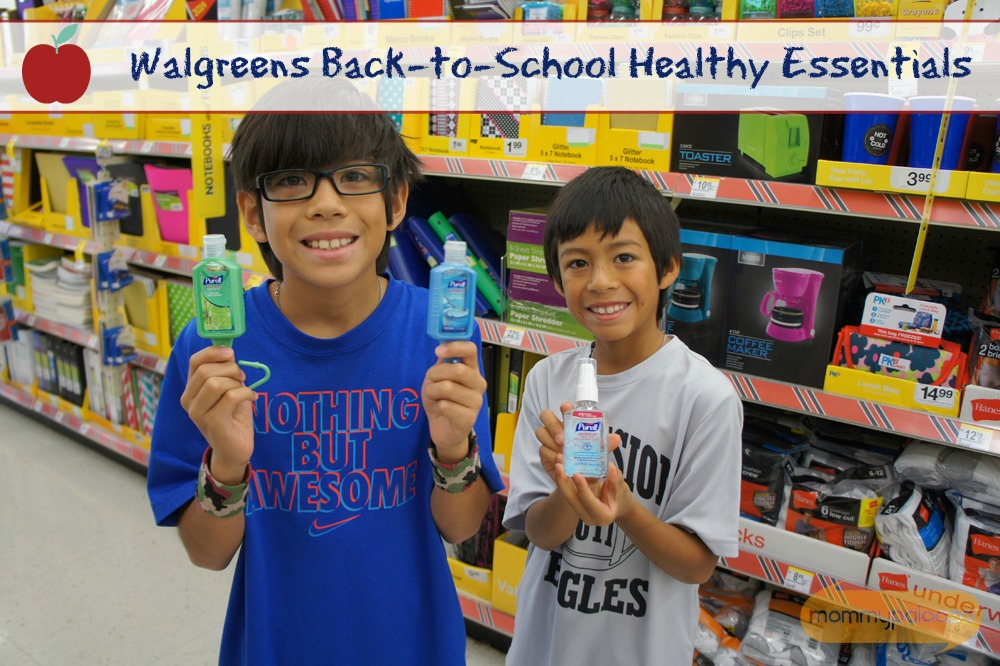 Walgreens Back to School Healthy Essentials