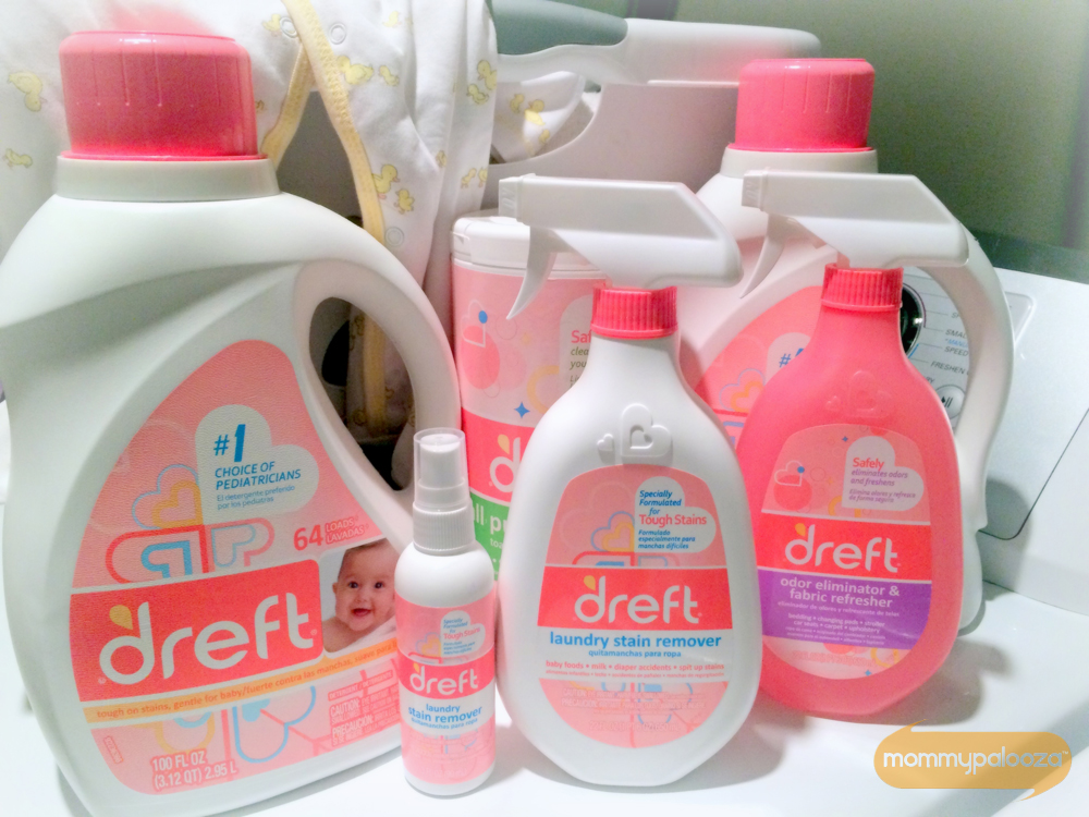 Dreft products are great for babies, kids, and families