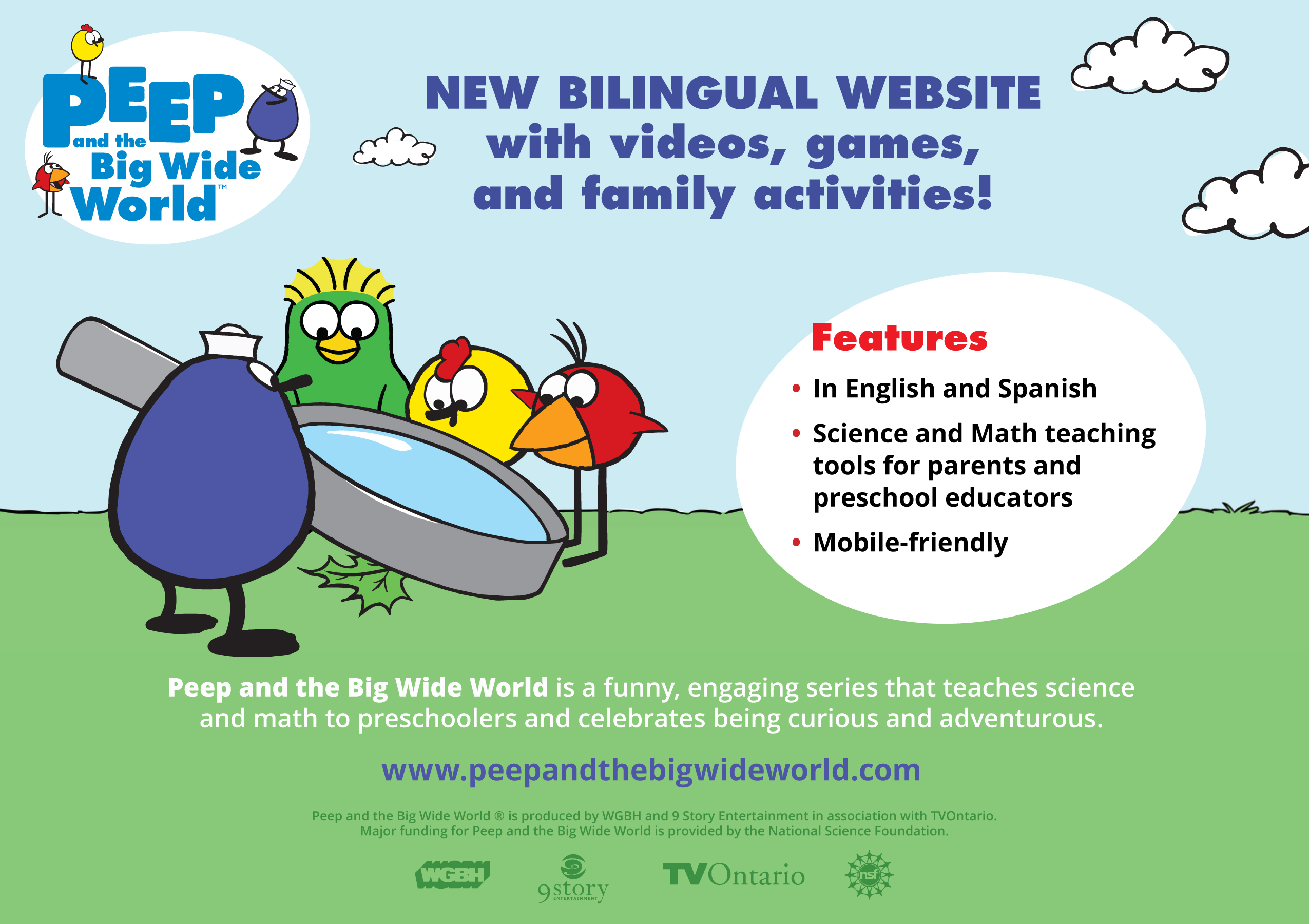 PEEP: bilingual math and science online learning