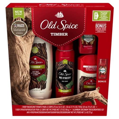 Old Spice gift ideas for teens and boys