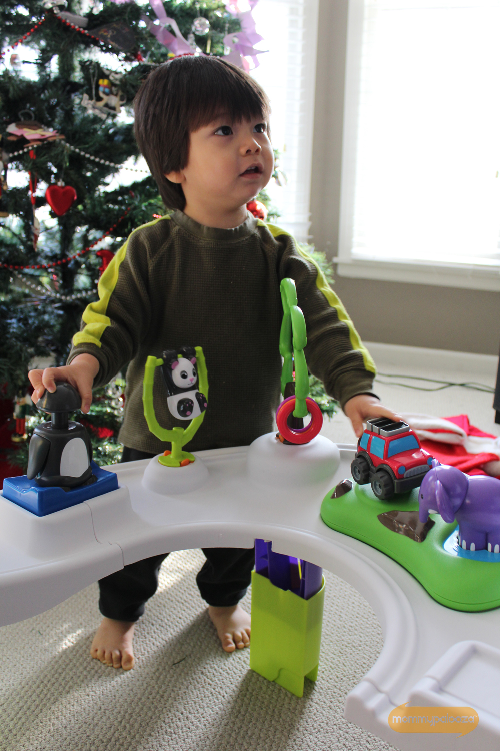 Evenflo Exersaucer makes a great holiday gift
