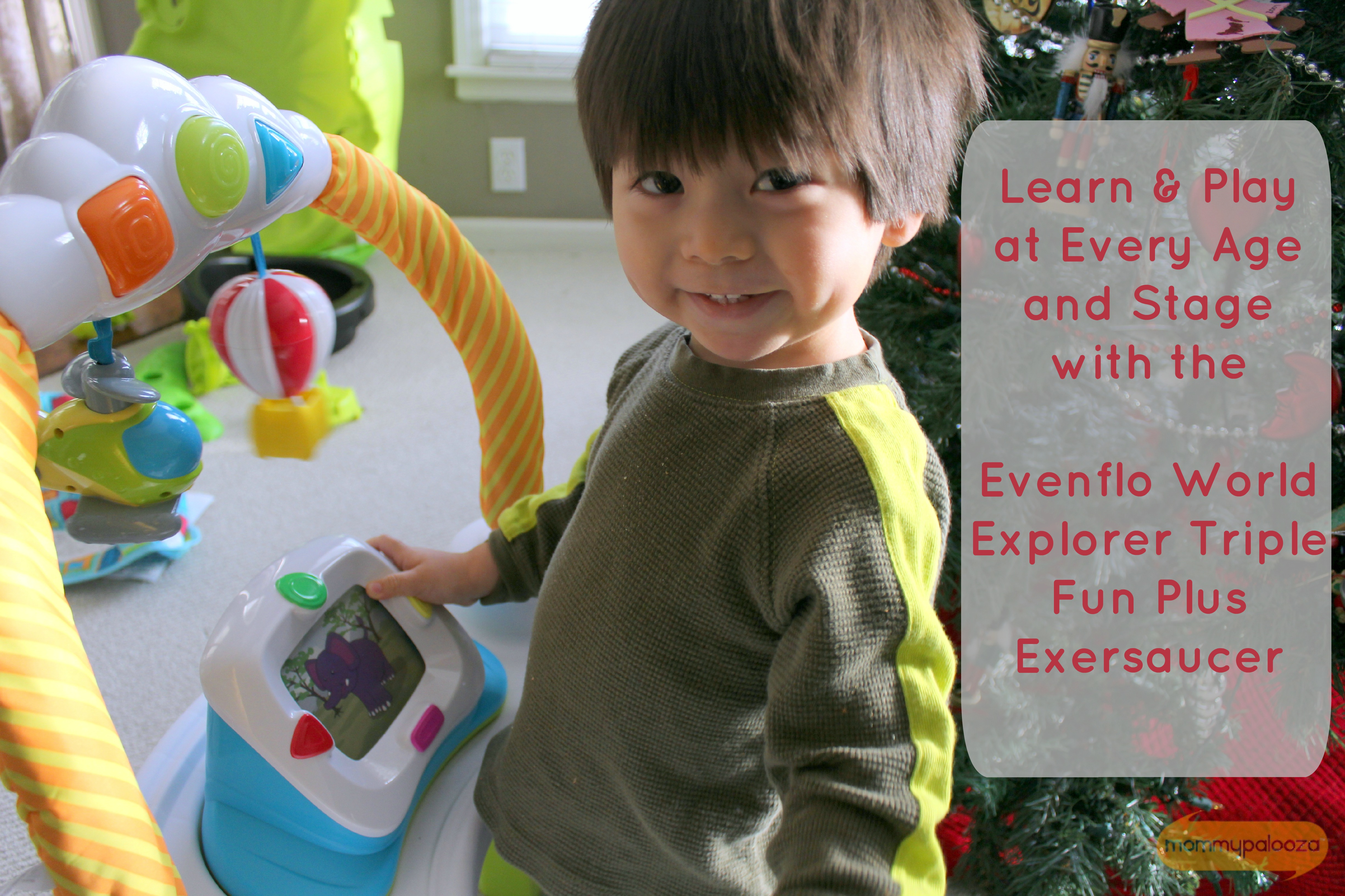 Evenflo World Explorer Triple Fun Plus ExerSaucer #ExerSaucerExplorer