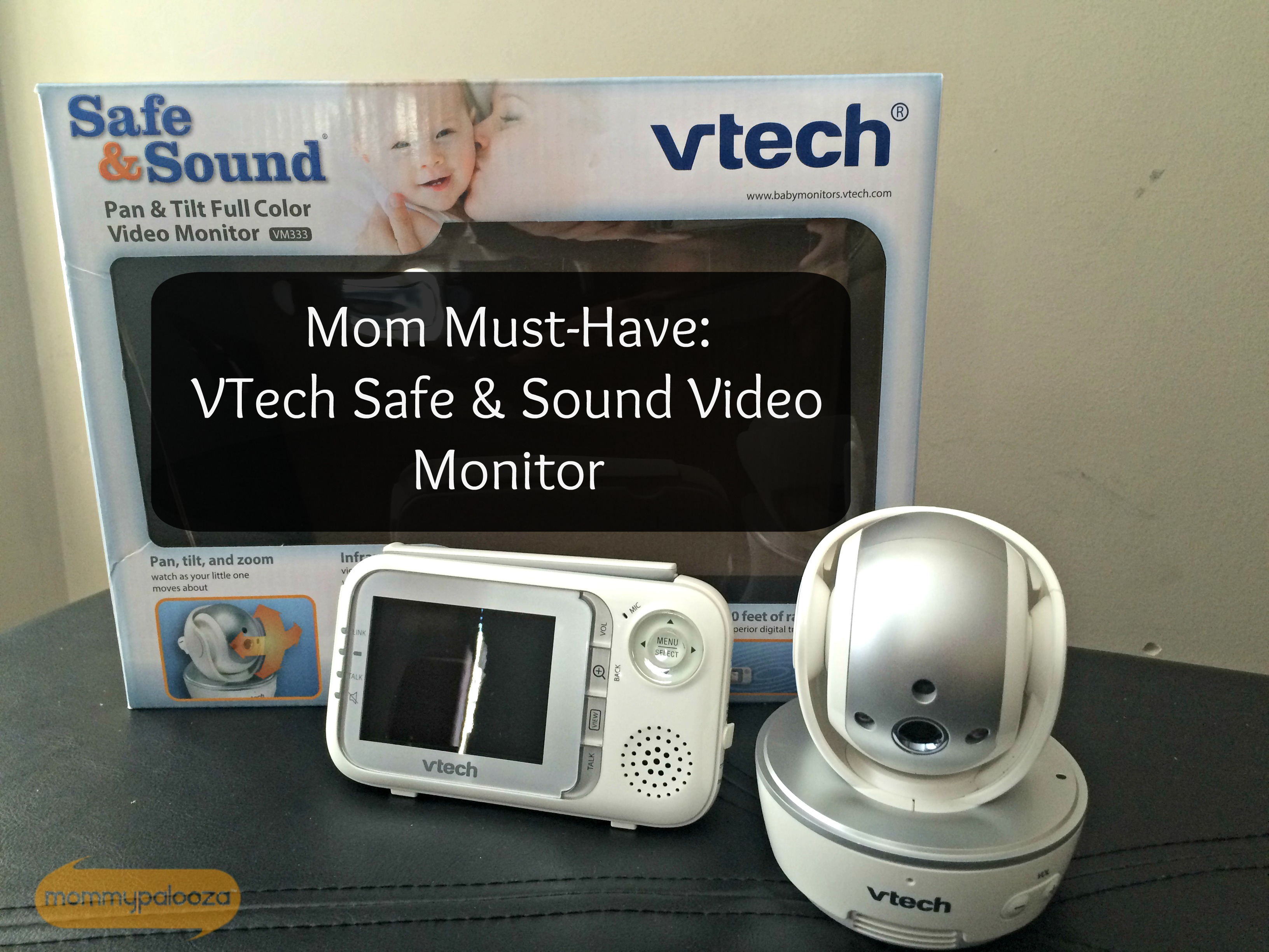 Mom Must-Have: VTech Safe and Sound® Pan & Tilt Full Color Video Baby Monitor Review #VTechBaby