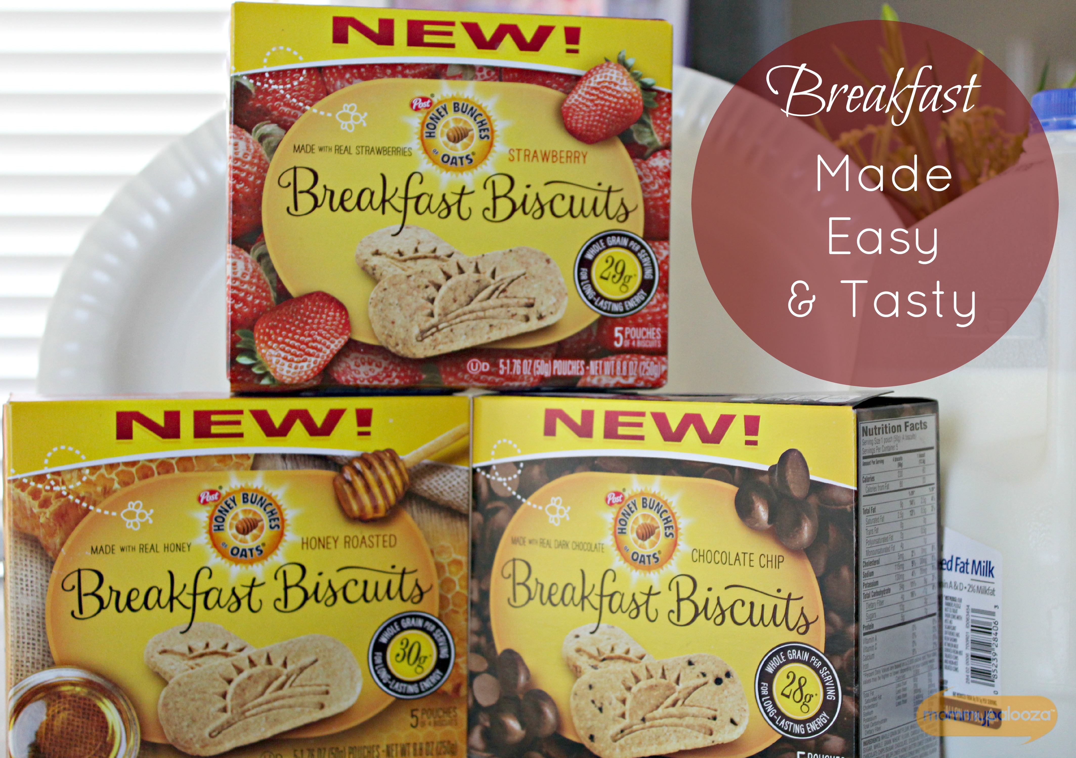 Breakfast Made Easy | Honey Bunches of Oats Breakfast Biscuits #GalletitasHBOats