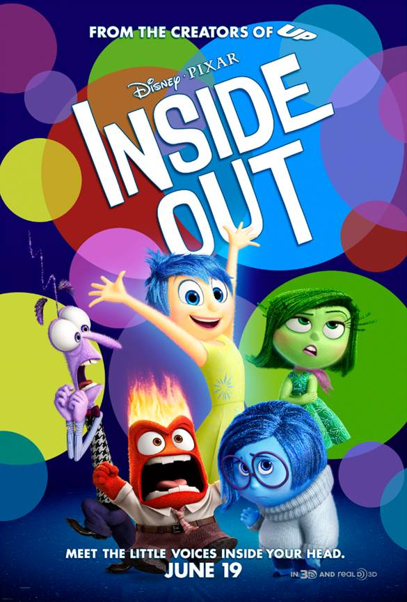 Disney / Pixar's Inside Out Movie Poster + Teaser Trailer #InsideOut