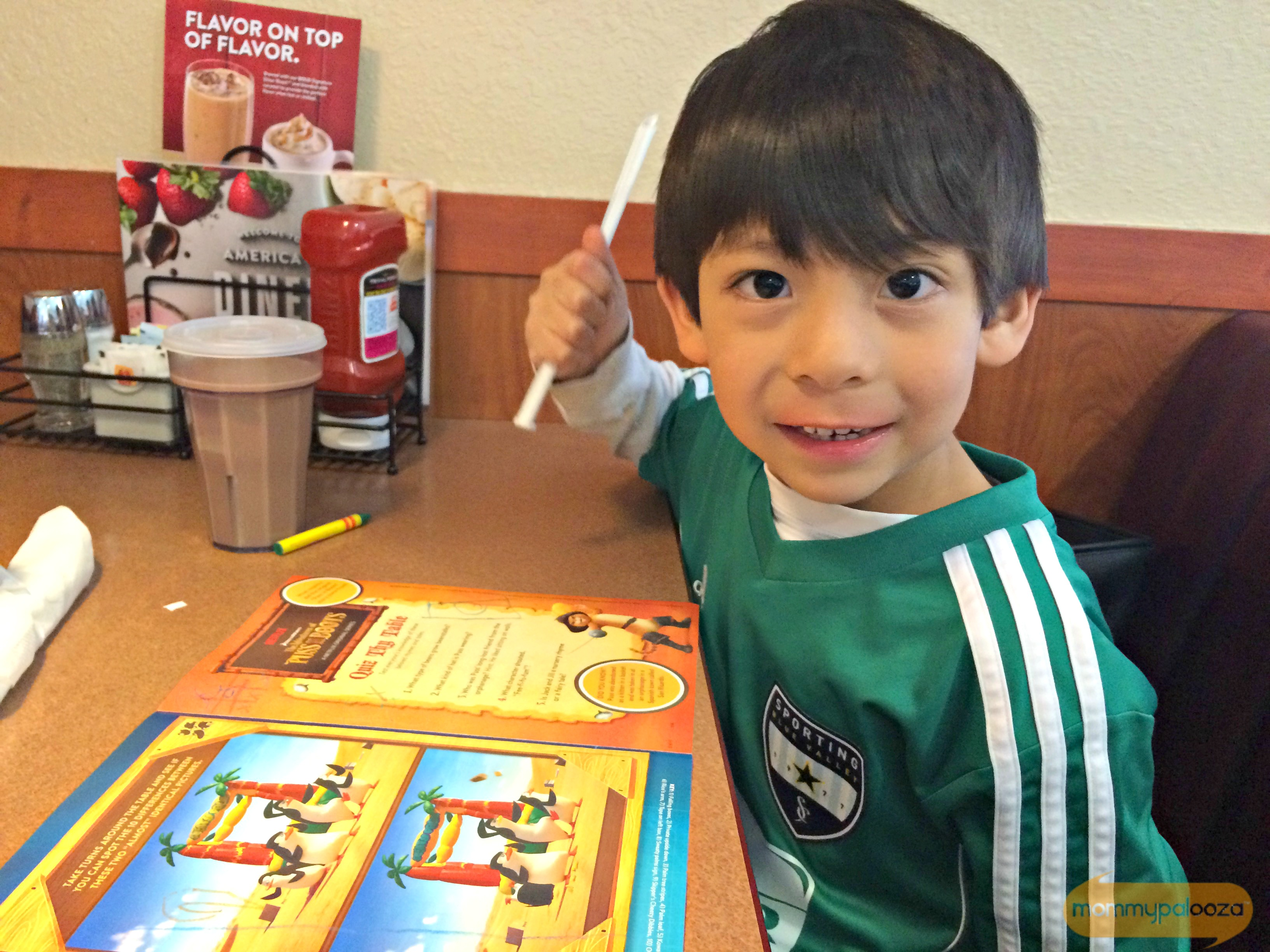 Denny's and DreamWorks Animation Bringing Family Fun to the Table #DennysDiners
