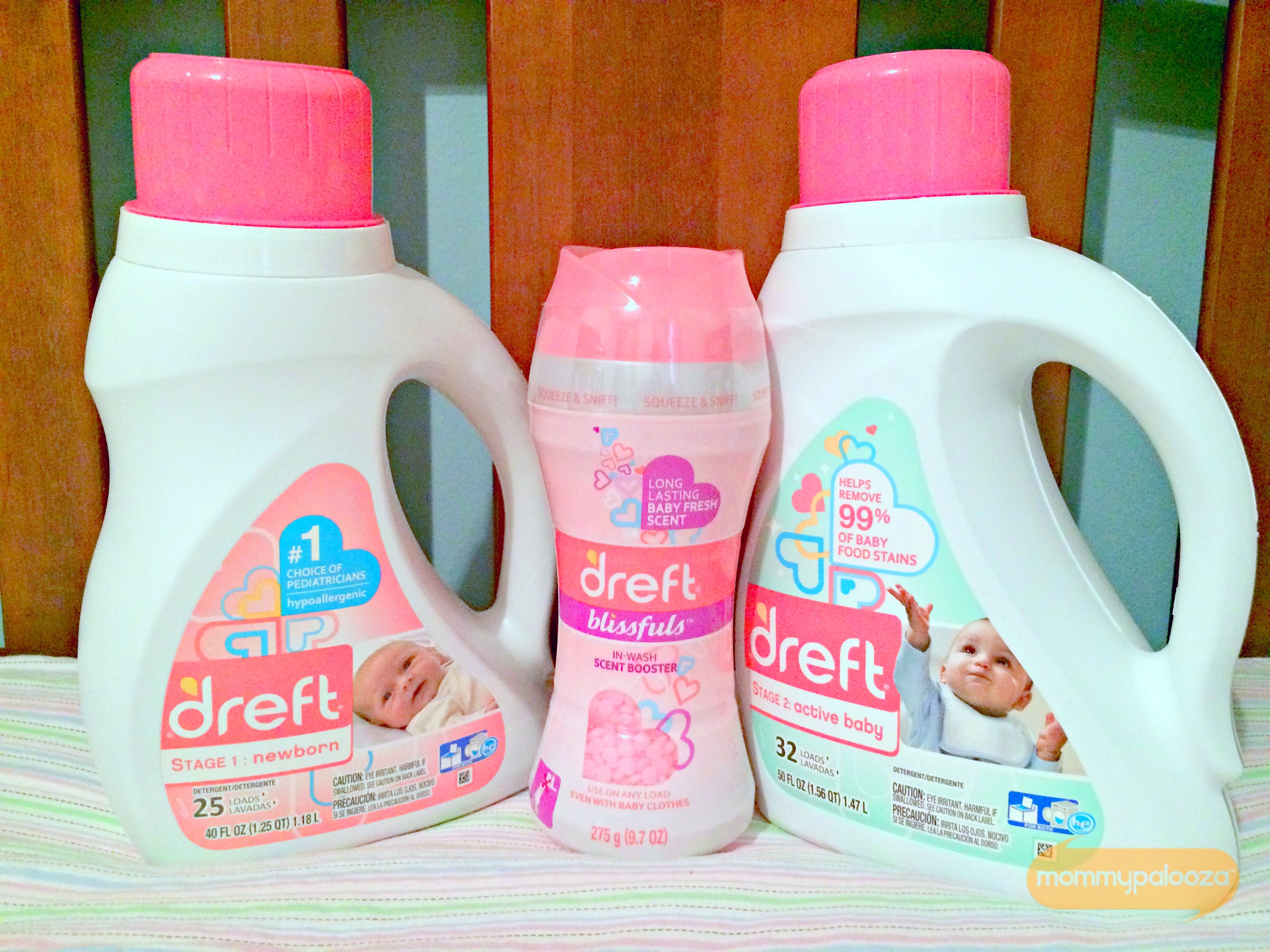 {giveaway}: Dreft's NEW Line of Amazing Laundry Care for Every Stage of Childhood #Amazinghood