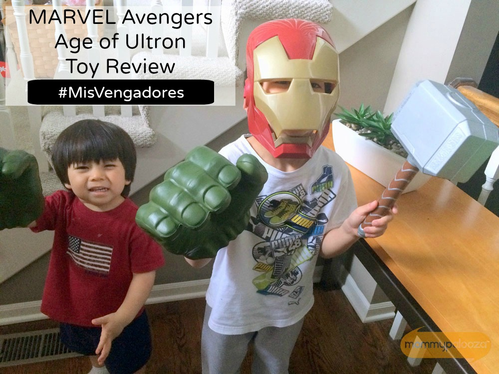 MARVEL Avengers Age of Ultron Toy Review #MisVengadores