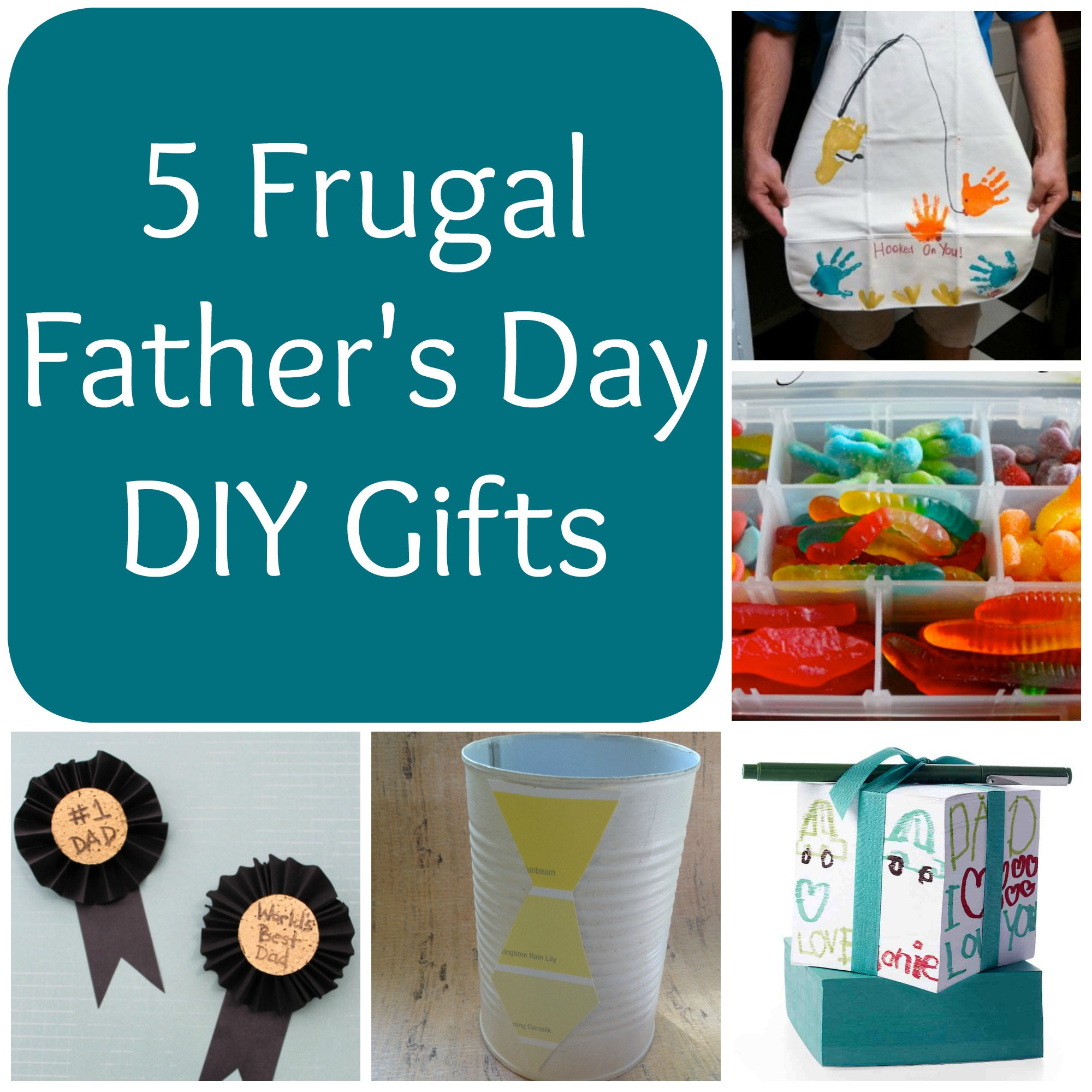 5 Frugal Fathers Day DIY Gifts