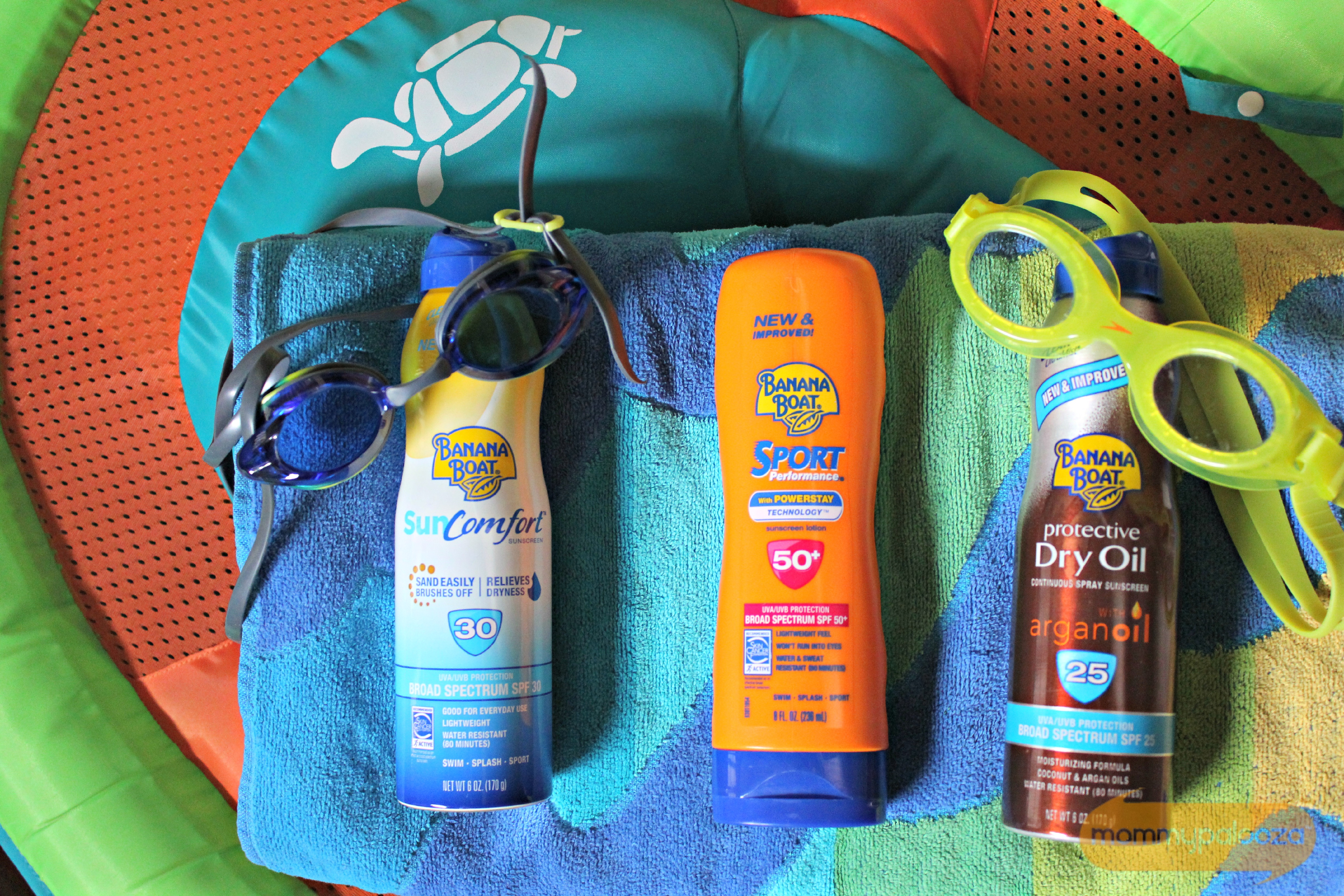 Summertime Family Fun Begins with Banana Boat #BestSummerEver | Mommypalooza