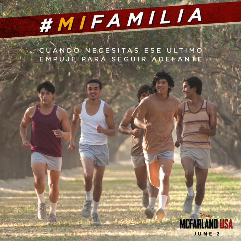 Disney's McFarland USA and Family Inspiriation #MiFamilia