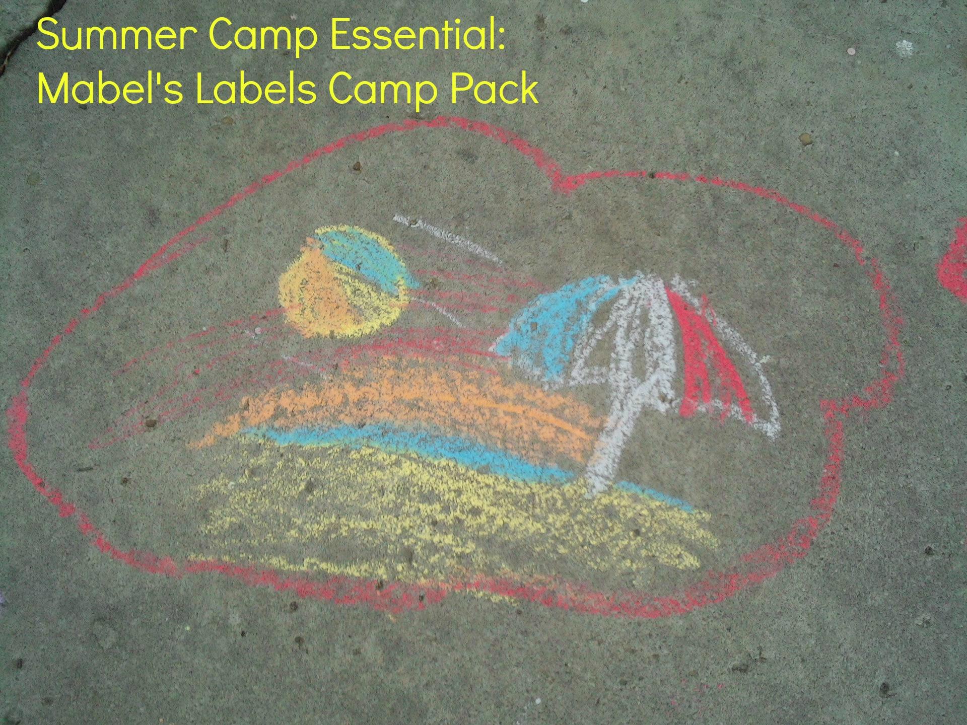 Summer Camp Essential for Kids | Mabel's Labels Camp Pack