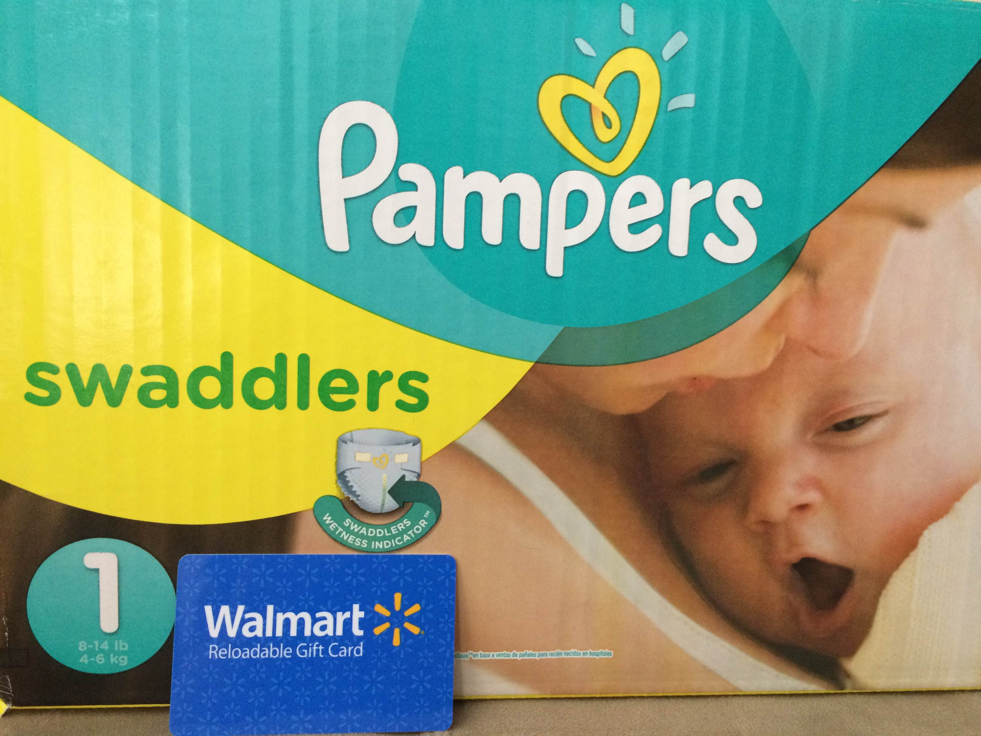 Help support the Children's Miracle Network Hospitals with this Pampers giveaway from Walmart