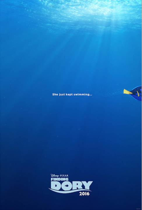 Disney Pixar's Finding Dory Swims Into Theaters June 17, 2016!