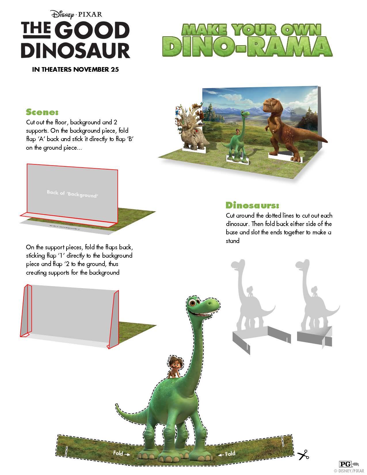 disney u0027s the good dinosaur free printable activity sheets