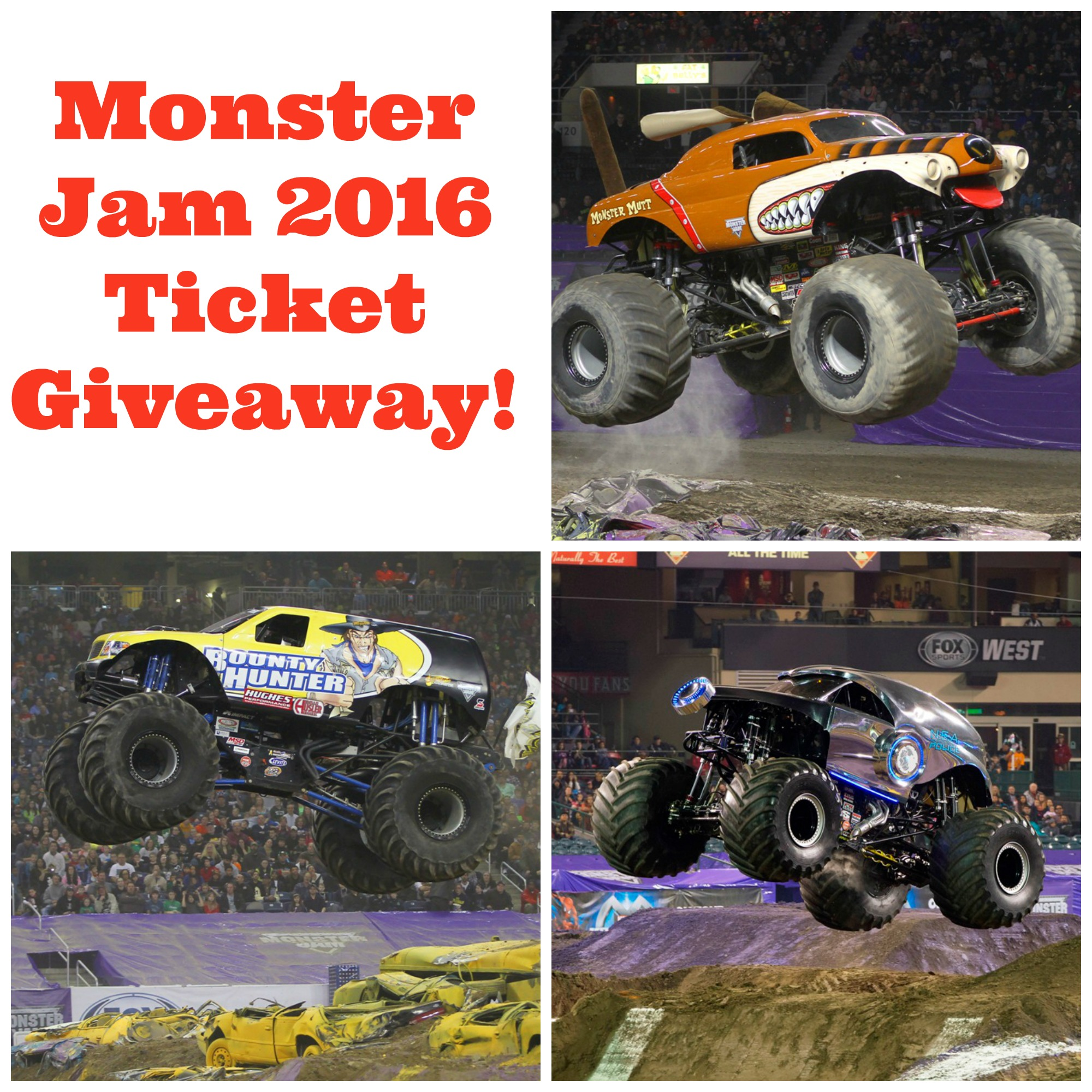 Monster Jam 2016 Kansas City Ticket Giveaway