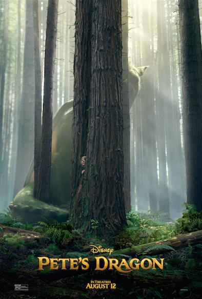 Disney's Pete's Dragon Movie Teaser Trailer