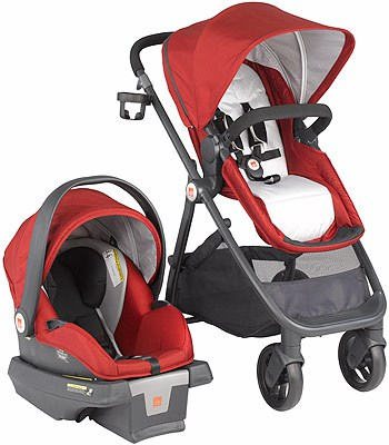 the GB Lyfe travel system stroller is a must have for your baby registry or a new baby gift! Love the stylish pram feature and how practical this is for everyday use!