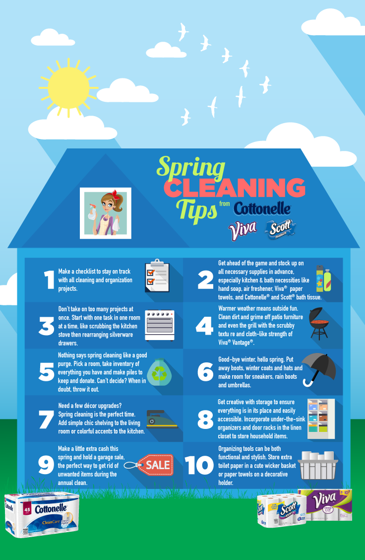 6 Spring Cleaning Shortcuts for Busy Moms