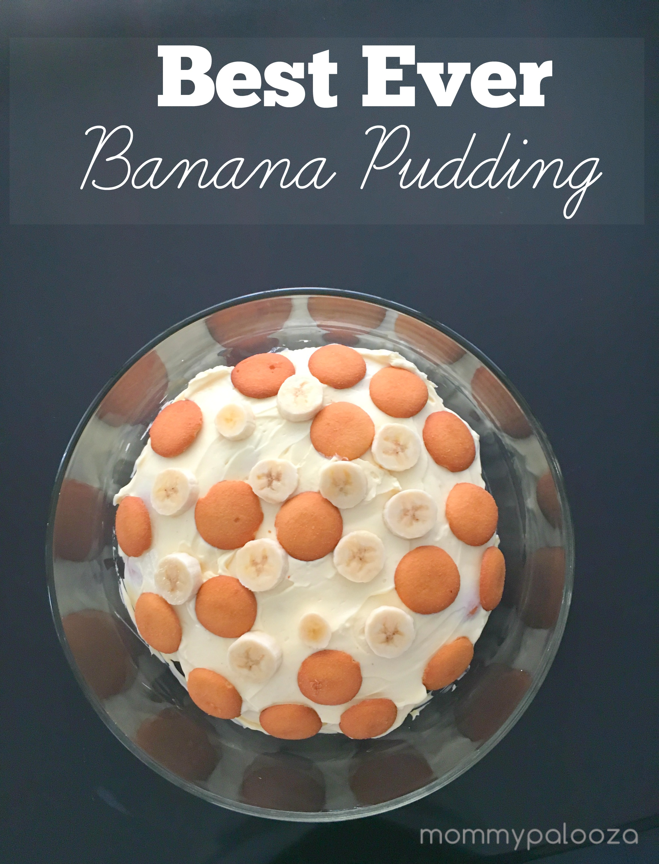 Best Ever Easy Banana Pudding Recipe