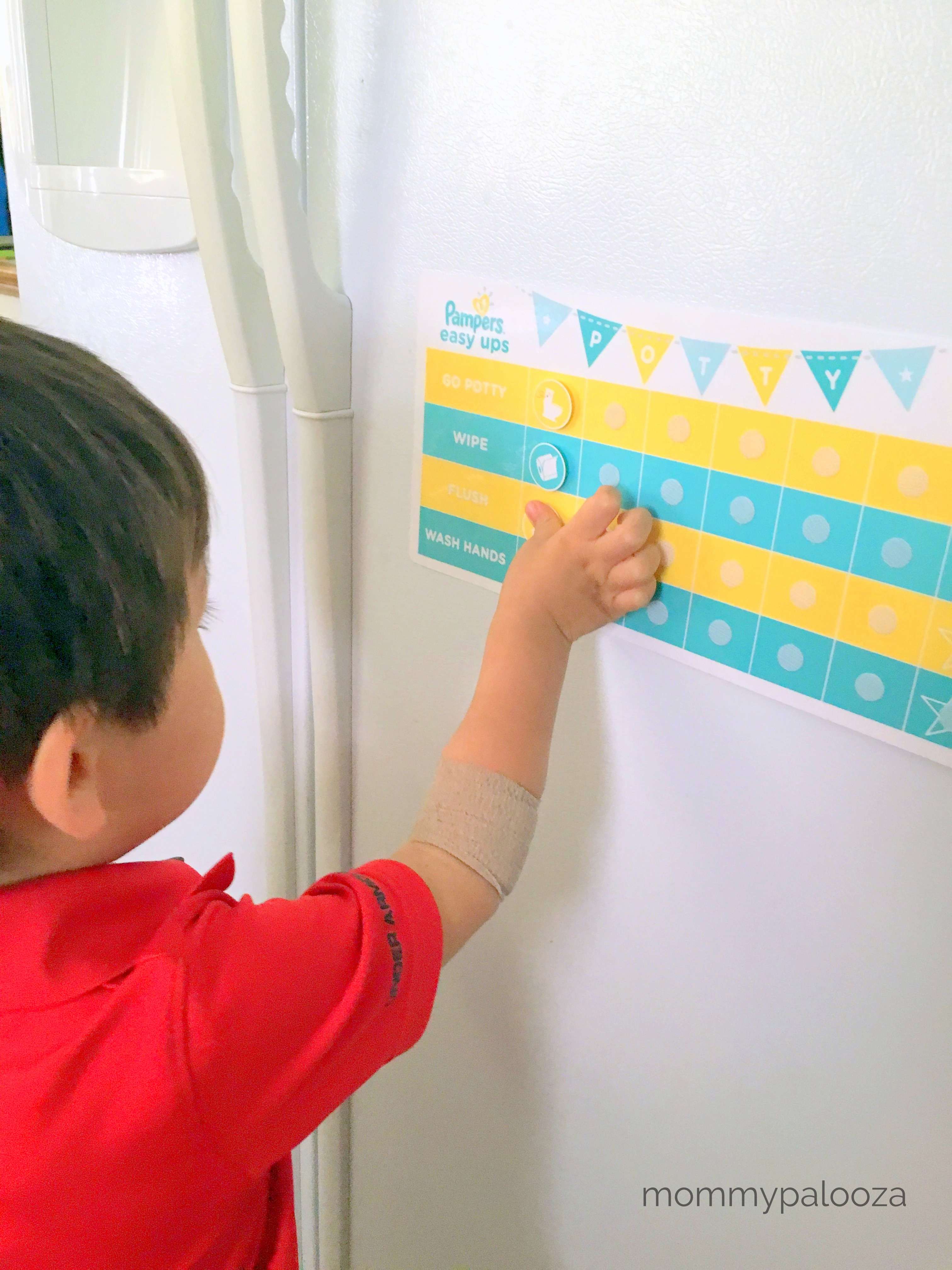 Potty Training Party and Tips with Pampers Easy Ups #PampersEasyUps