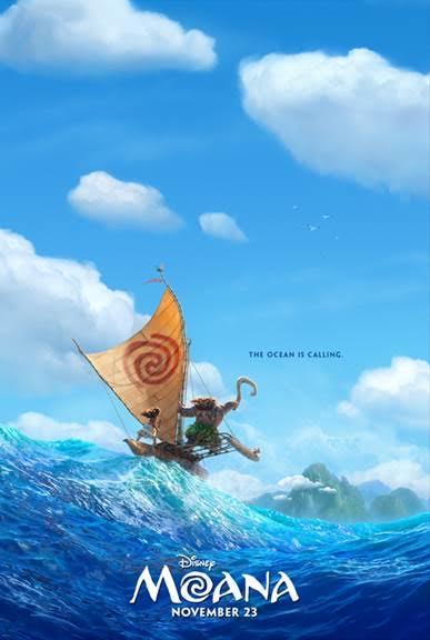 Disney's Moana Movie Trailer