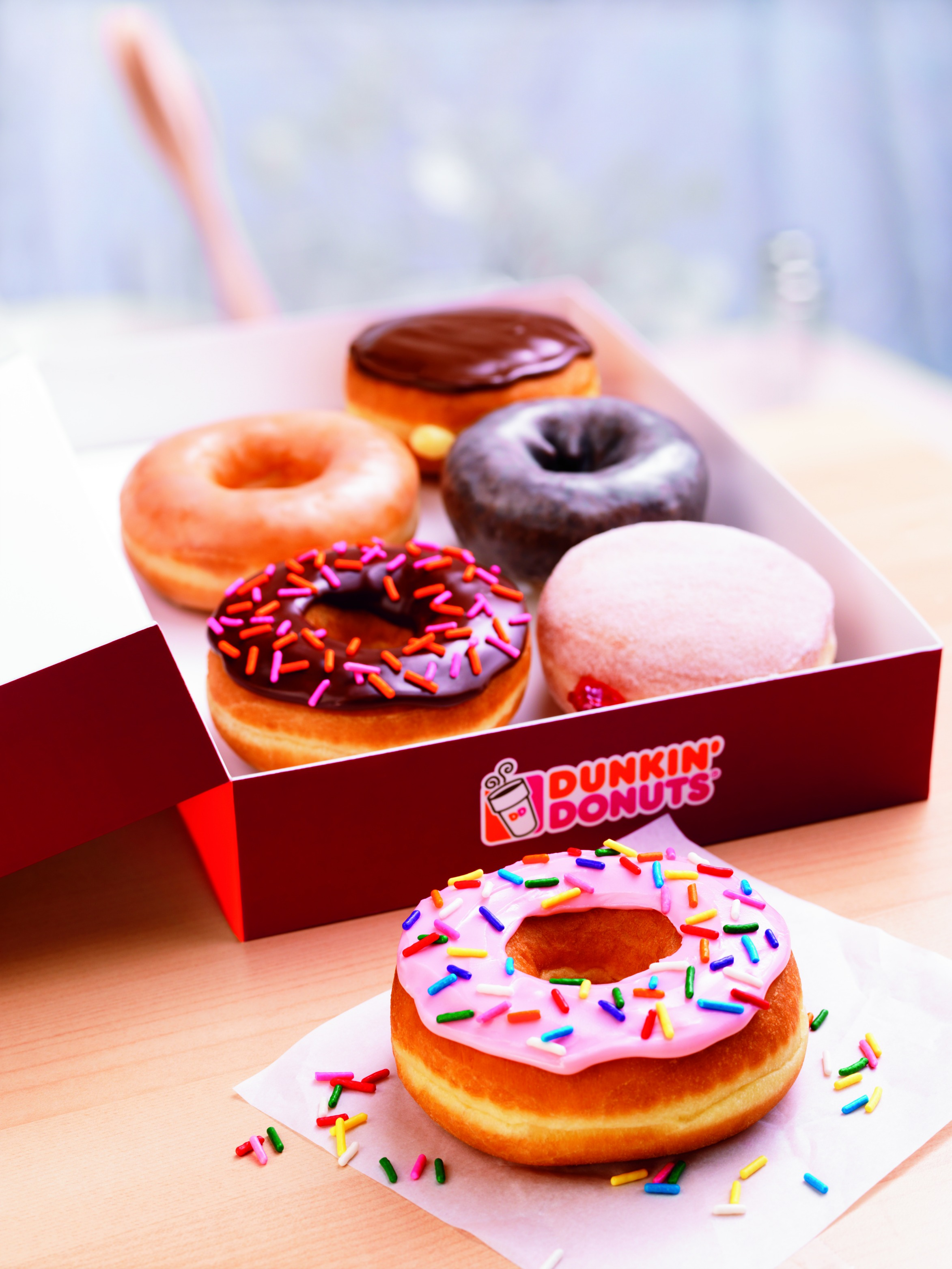 Celebrate National Donut Day at Dunkin' Donuts!