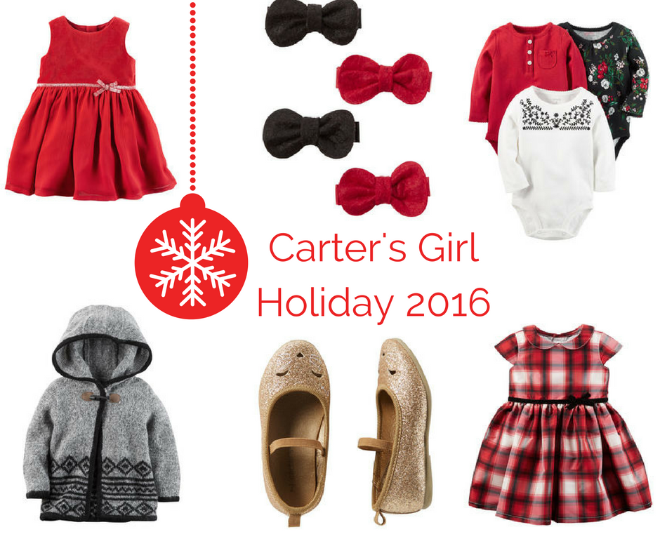Carter's Festive Holiday PJs and Outfits For Little Ones