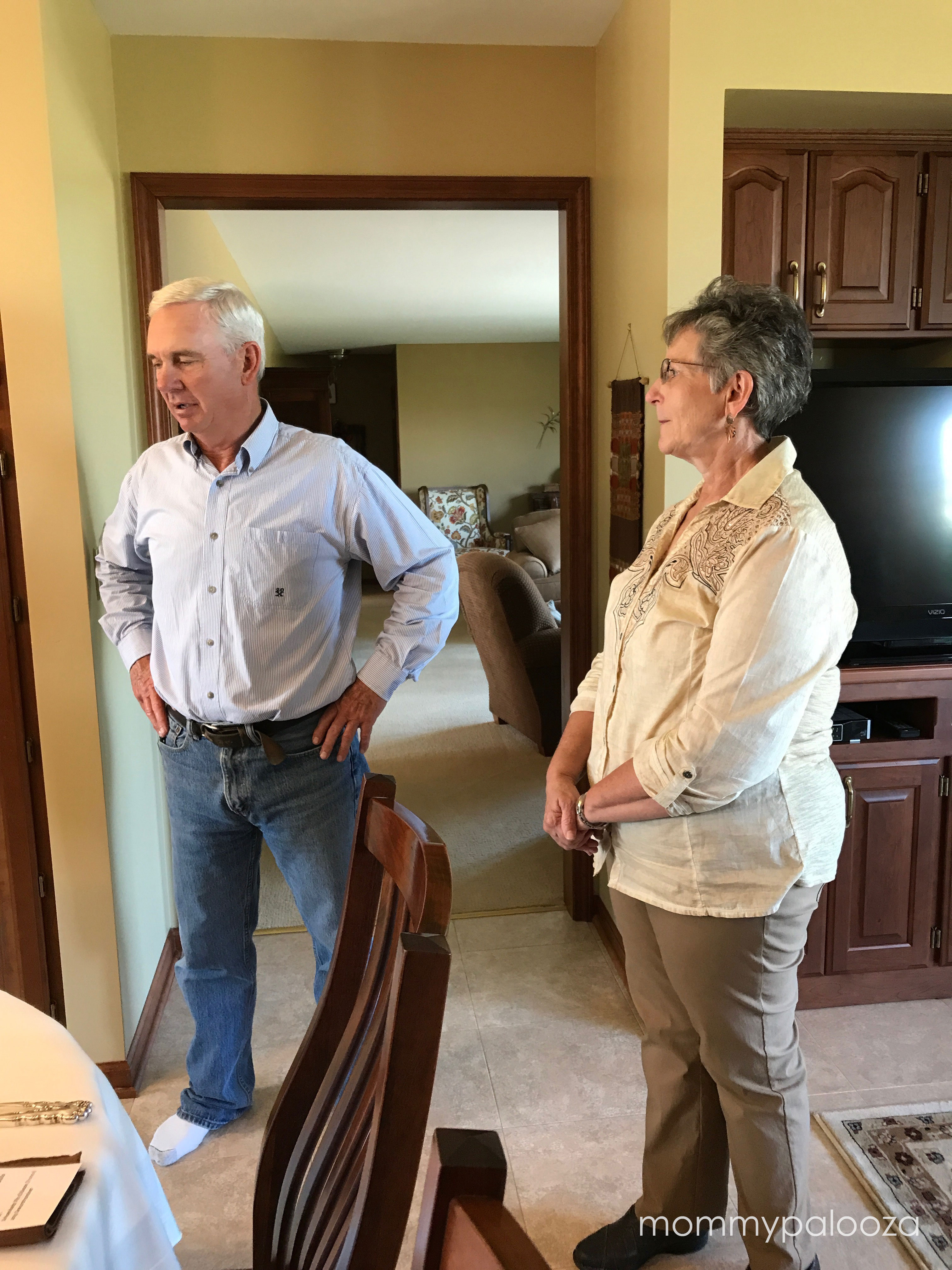 Craig and Amy Good from Good Farms host blogger luncheon in their home as part of Farm Food Tour