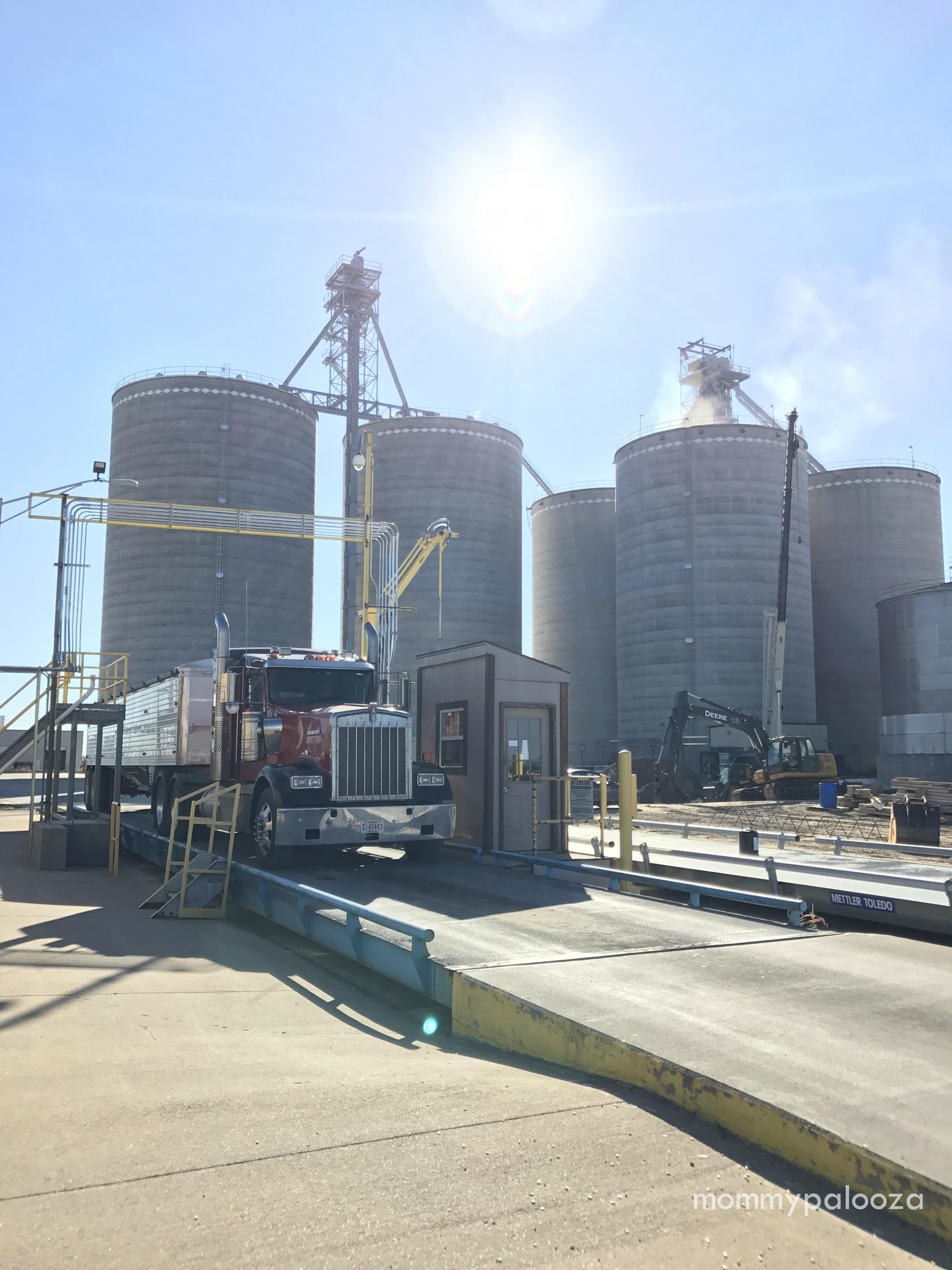 Kansas grain silo | #KS Corn Tour