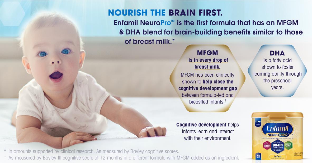 Enfamil NeuroPro Infographic