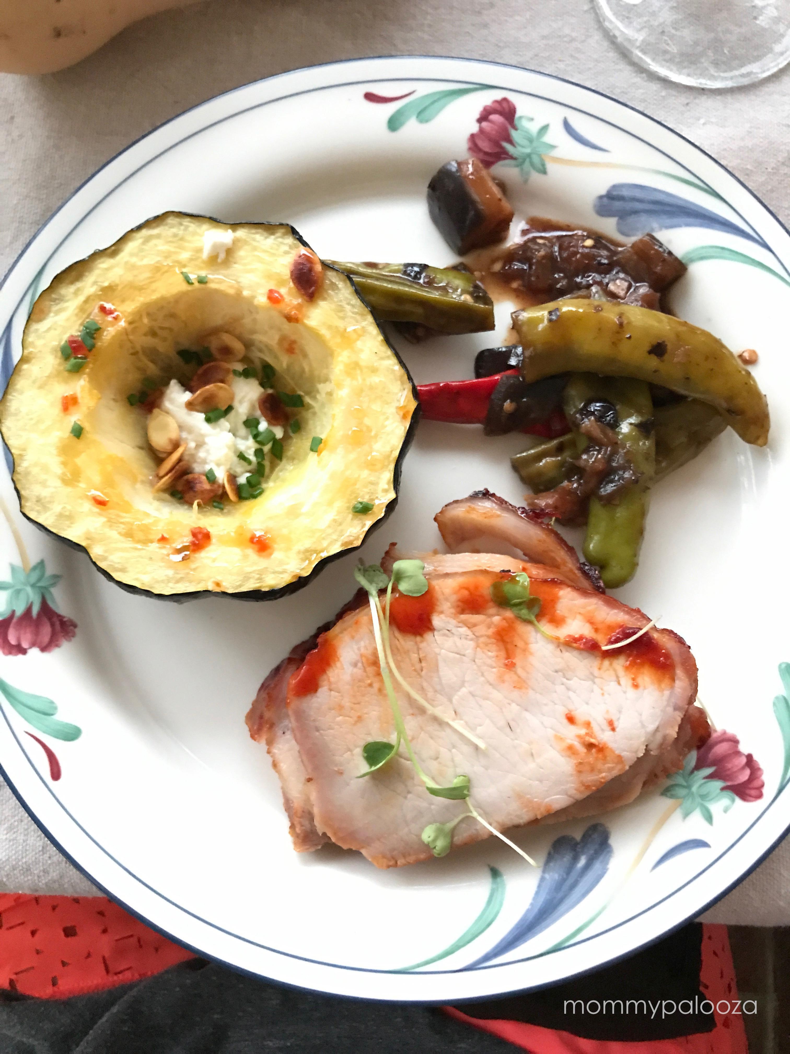 plated dinner serving