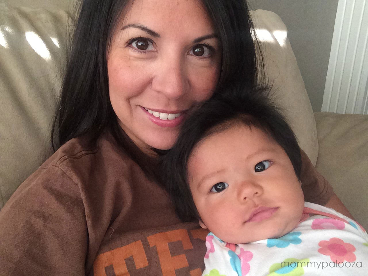 mommypalooza and baby selfie