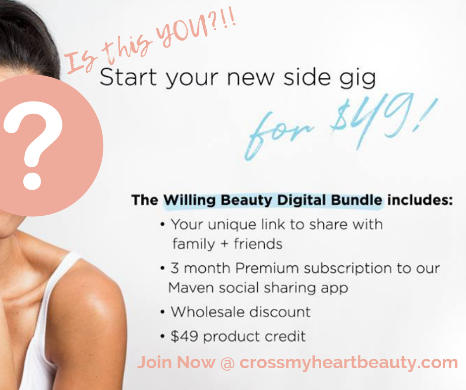 Join Willing Beauty for Just $49 Right Now!